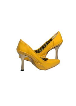 Canary Yellow Pumps